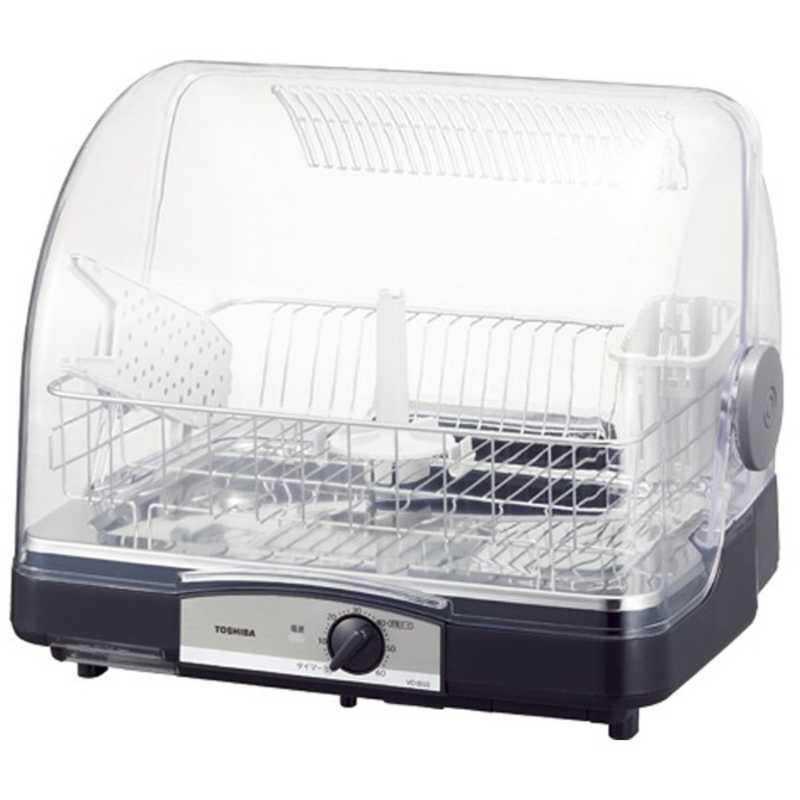 東芝 新作アイテム毎日更新 正規取扱店 TOSHIBA 食器乾燥器 ブルーブラック VD‐B5S‐LK 6人用