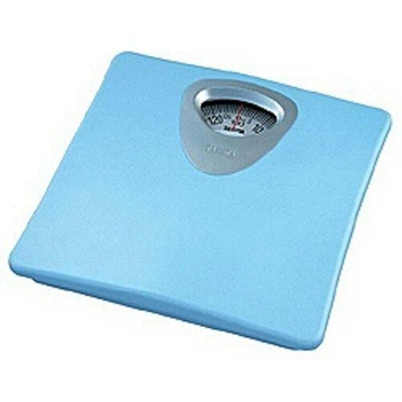 市場 国産品 合計3 980円以上で送料無料 更に代引き手数料も無料 タニタ 体重計 ブルー アナログ HA‐851