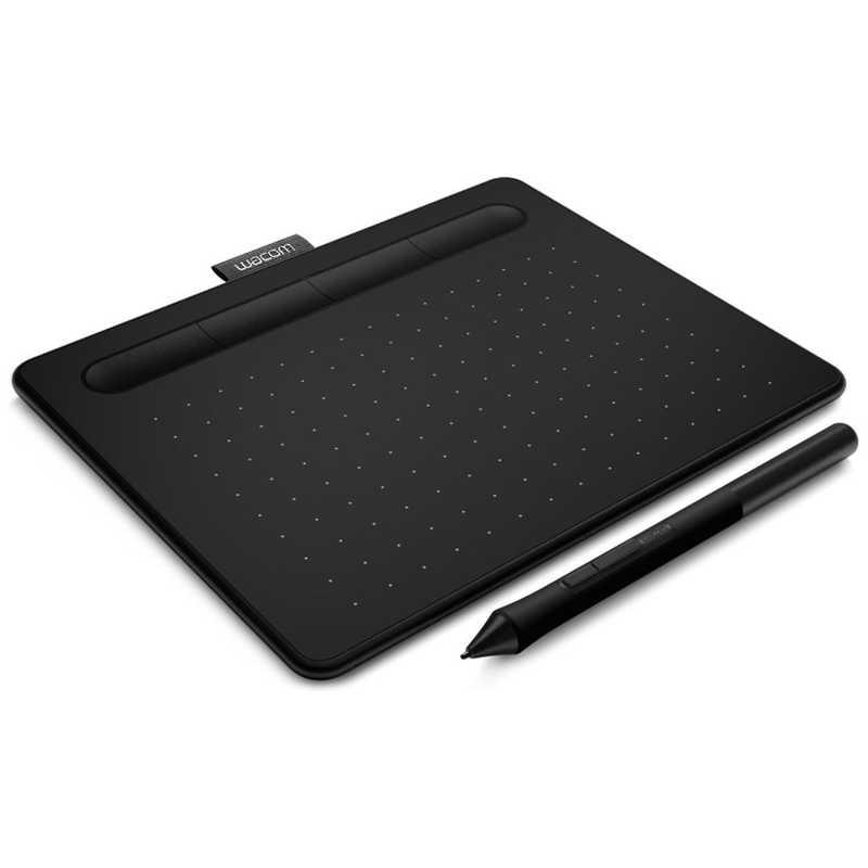 WACOM 超激安 ペンタブレット Intuos マーケット small K0 ベーシック CTL-4100 ブラック