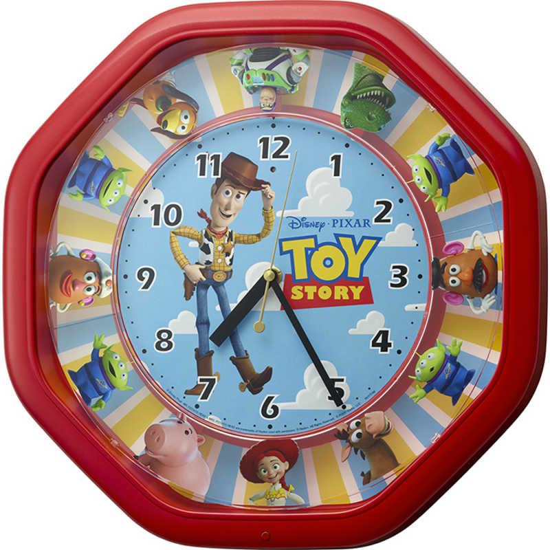 好評受付中 期間限定 リズム時計 からくり時計 カラクリトケイM440トイ ストーリー 4MH440MC01