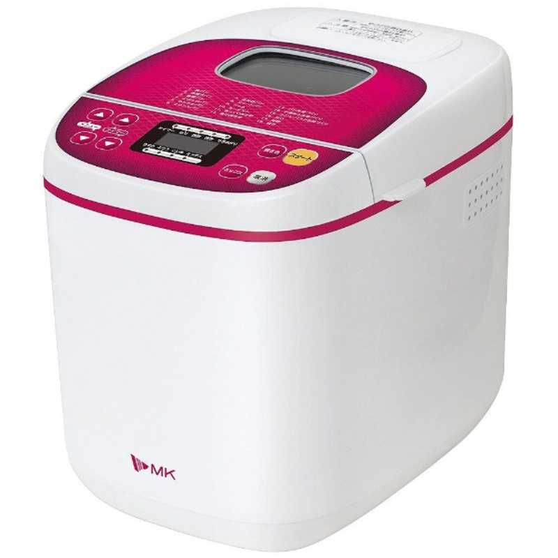 エムケー精工 ホームベーカリー ふっくらパン屋さん HBS-100W 市販 1斤 無料サンプルOK ホワイト