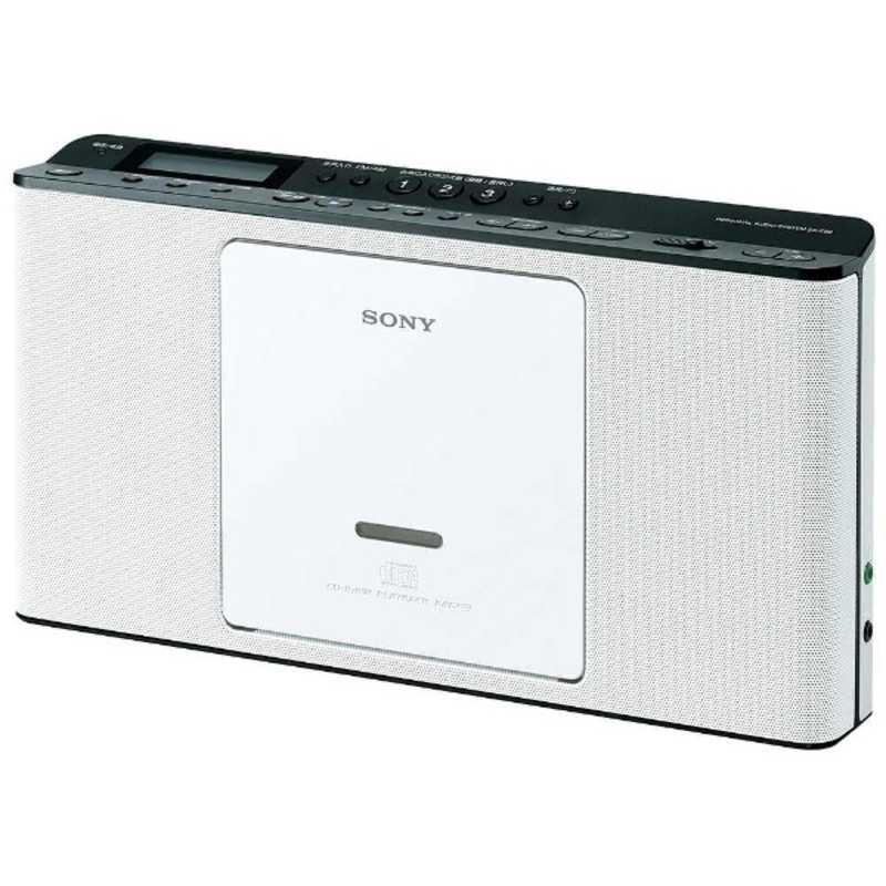 ソニー SONY 在庫処分 CDラジオ 国内正規総代理店アイテム ホワイト ZS-E80WC