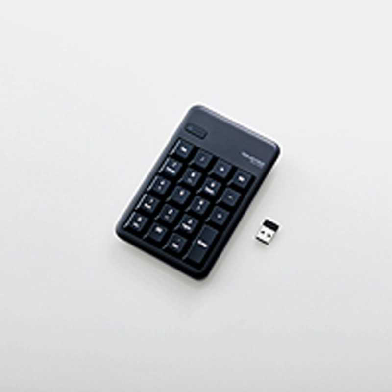 合計3 980円以上で送料無料 更に代引き手数料も無料 新色 エレコム ELECOM ワイヤレステンキーパッド USB Win ブラック 2.4GHz TK-TDM017BK 直送商品