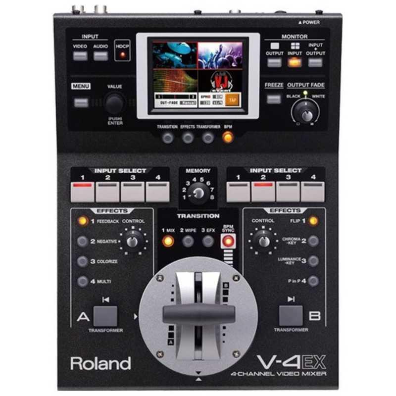 ローランド 驚きの価格が実現 Roland 4チャンネルビデオミキサー 今だけ限定15%OFFクーポン発行中 V-4EX