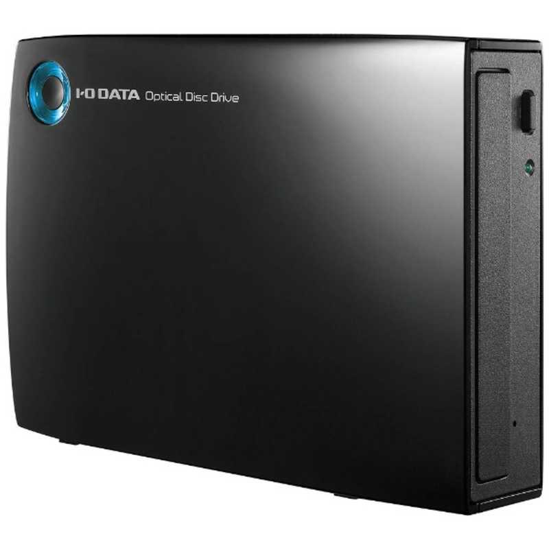 IOデータ USB 3.0接続 ブラック 期間限定の激安セール ◆在庫限り◆ 外付けDVDドライブ DVR‐UT24EZ