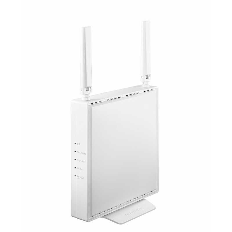 人気商品 IOデータ Wi-Fiルーター 1201 574Mbps ホワイト Wi-Fi 6 b ax a ブランド買うならブランドオフ g WN-DEAX1800GRW ac n