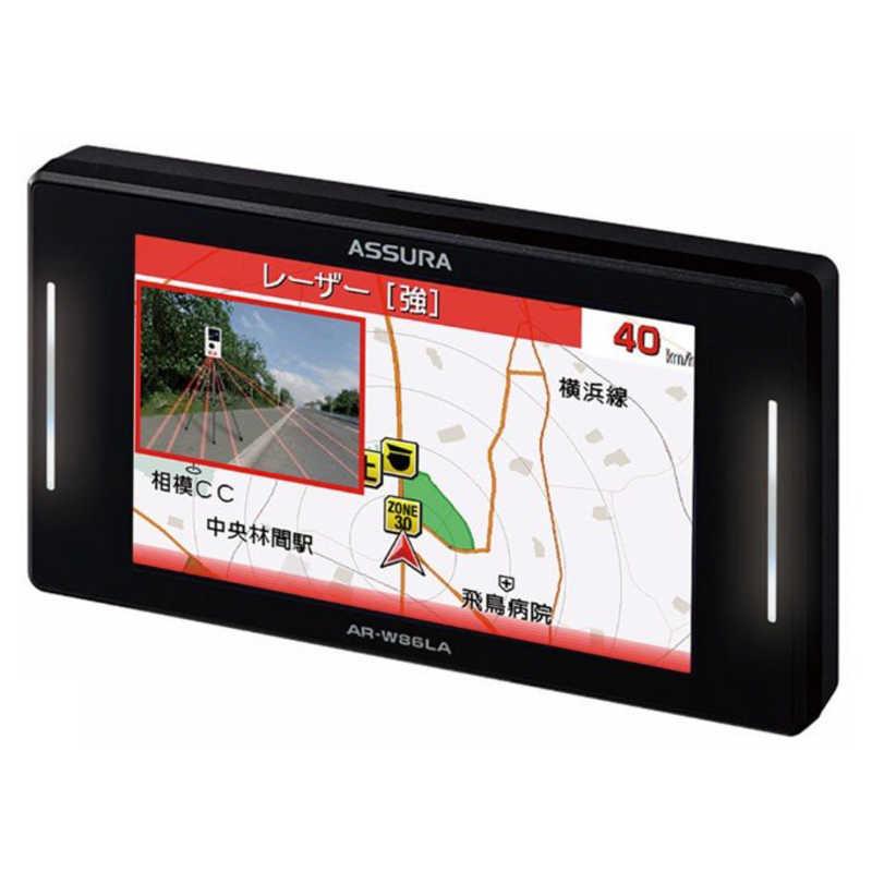 セルスター工業 商品 正規販売店 3.7インチ 無線LAN内蔵 AR-W86LA レーザー式オービス対応セーフティーレーダー