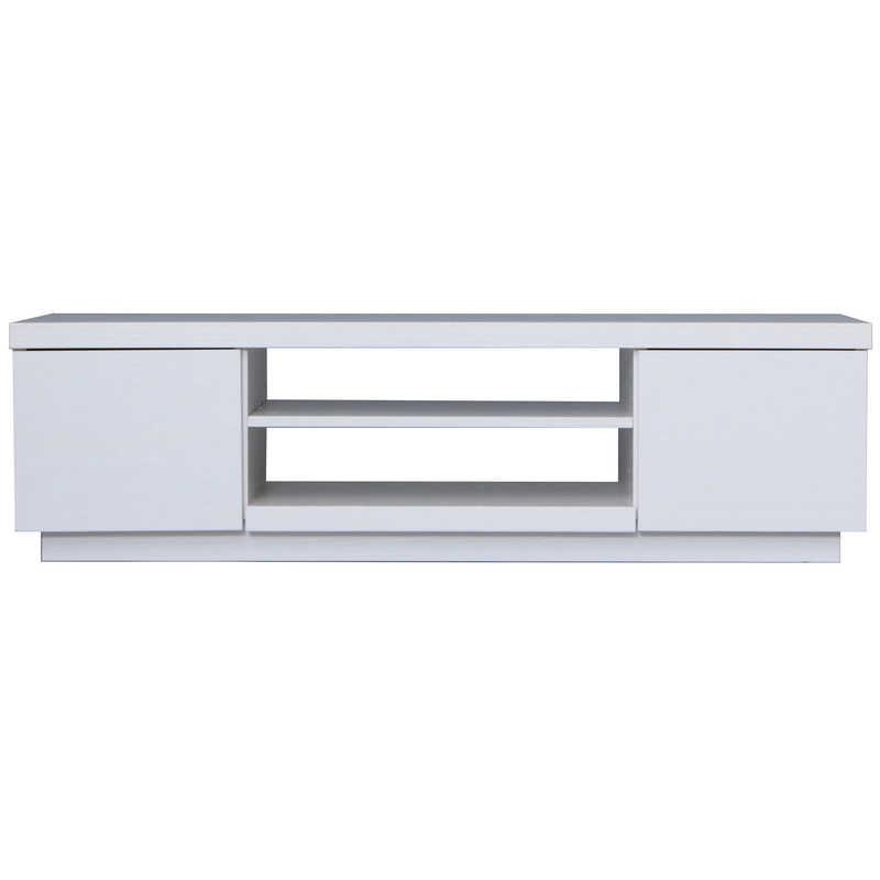 買い物 アイリスオーヤマ IRIS OHYAMA AVボードボックスタイプ オフホワイト BAB-100 市販 ~43V向け