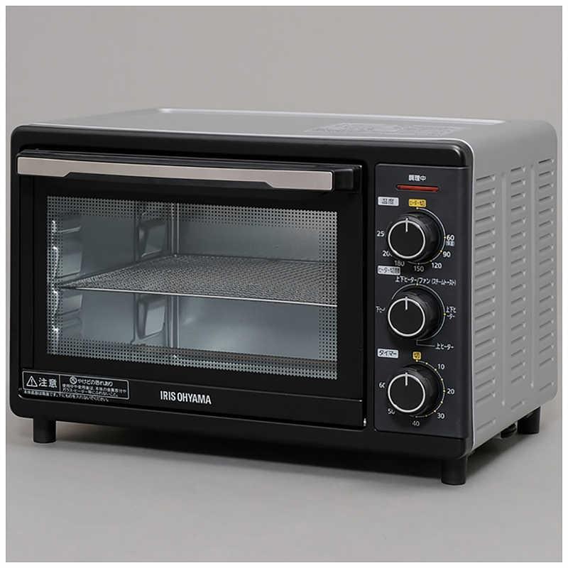アイリスオーヤマ ハイクオリティ 激安卸販売新品 IRIS OHYAMA FVC-D15B-S シルバー コンベクションオーブン