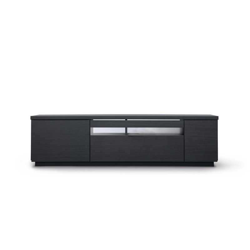 アイリスオーヤマ IRIS OHYAMA ボックステレビ台 アッパータイプ ~65インチ BTS-GD150UK ブラック