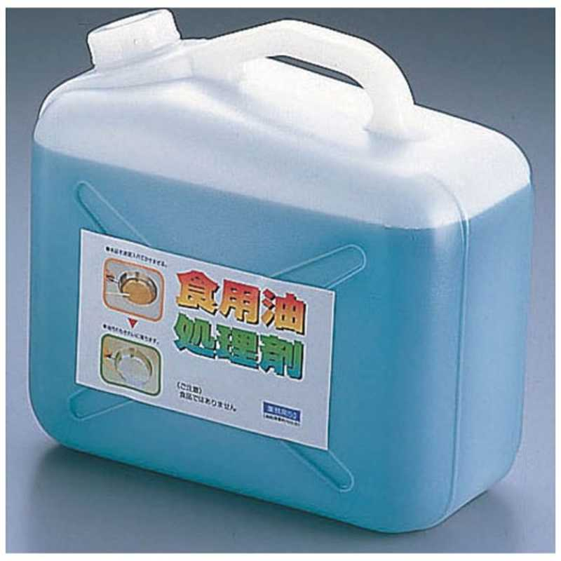UYEKI 天ぷら油処理剤 油コックさん 5l (計量カップ付)  ATV243