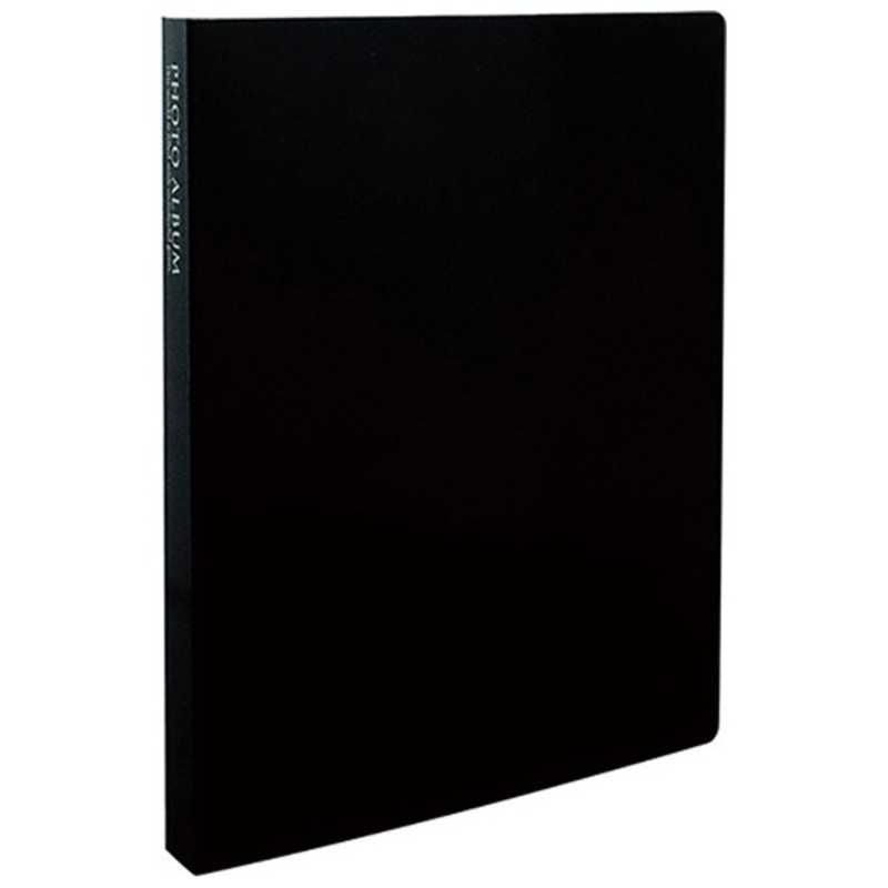 合計3 980円以上で送料無料 更に代引き手数料も無料 セキセイ フォトアルバム KP-80M 物品 Lサイズ80枚 付与 高透明 ブラック
