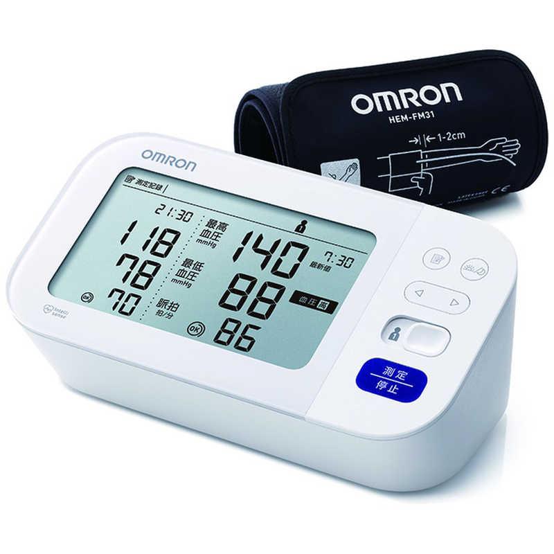 オムロン 定番 OMRON 血圧計 上腕 HCR-7409 式 日本限定 カフ