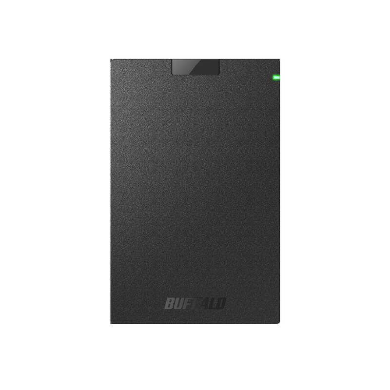 BUFFALO 外付けHDD ブラック 500GB HD-PCG500U3-BA セール価格 ポータブル型 流行のアイテム
