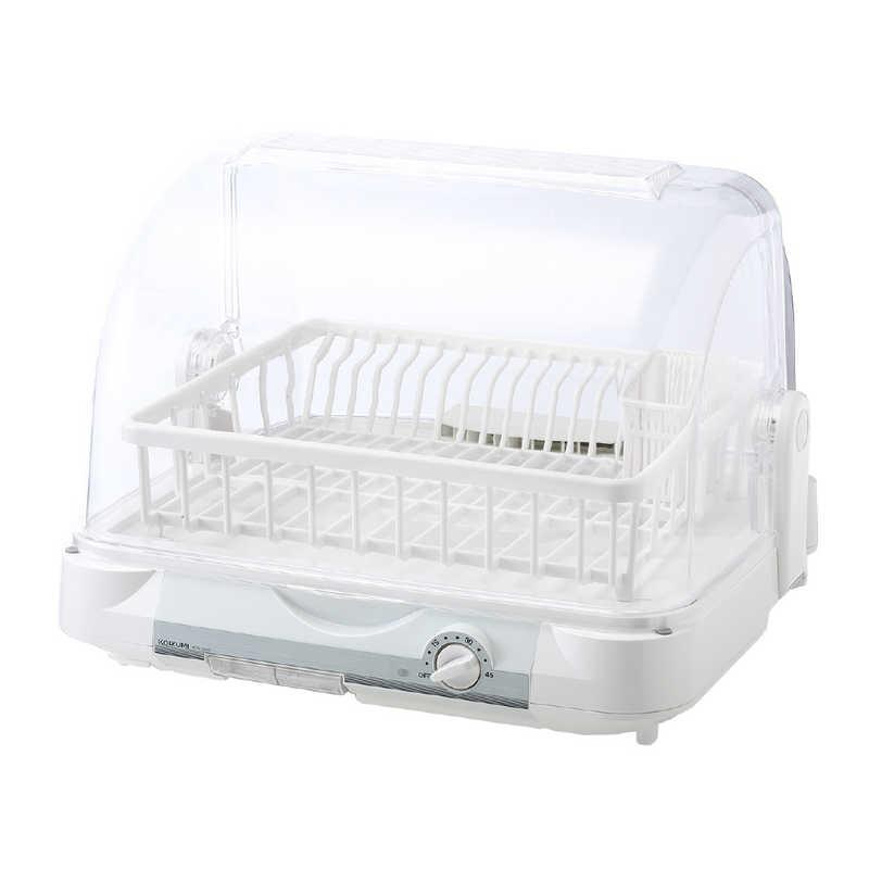 キャンペーンもお見逃しなく コイズミ KOIZUMI 食器乾燥器 6人分 ホワイト W 新入荷 流行 KDE-5000