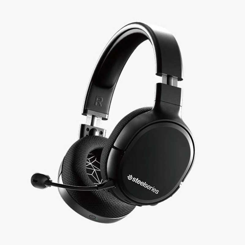 STEELSERIES ゲーミングヘッドセット Arctis 1 Wireless ワイヤレス 世界の人気ブランド 両耳 61512-ARCTIS1-WIRELESS USB 有線 低価格 ヘッドバンドタイプ