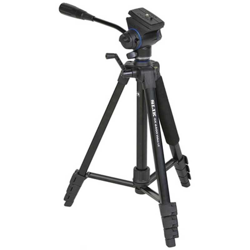 スリック 4段三脚 期間限定の激安セール GX 6400 ファッション通販 VIDEO-LE