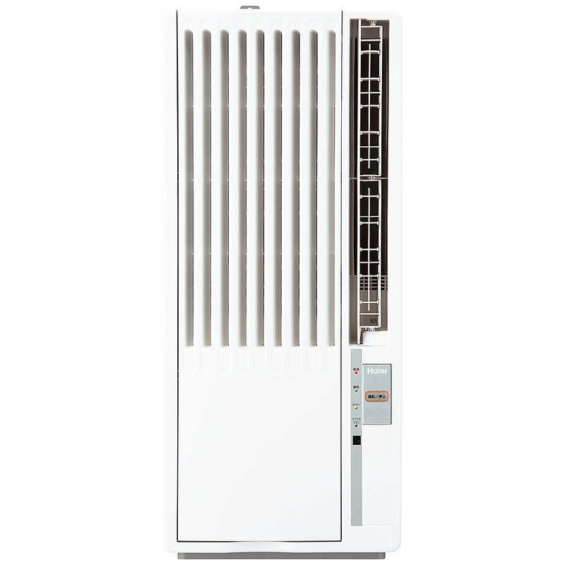 激安 人気の製品 激安特価 送料無料 ハイアール 窓用エアコン ホワイト 冷房専用 ノンドレン JA18V
