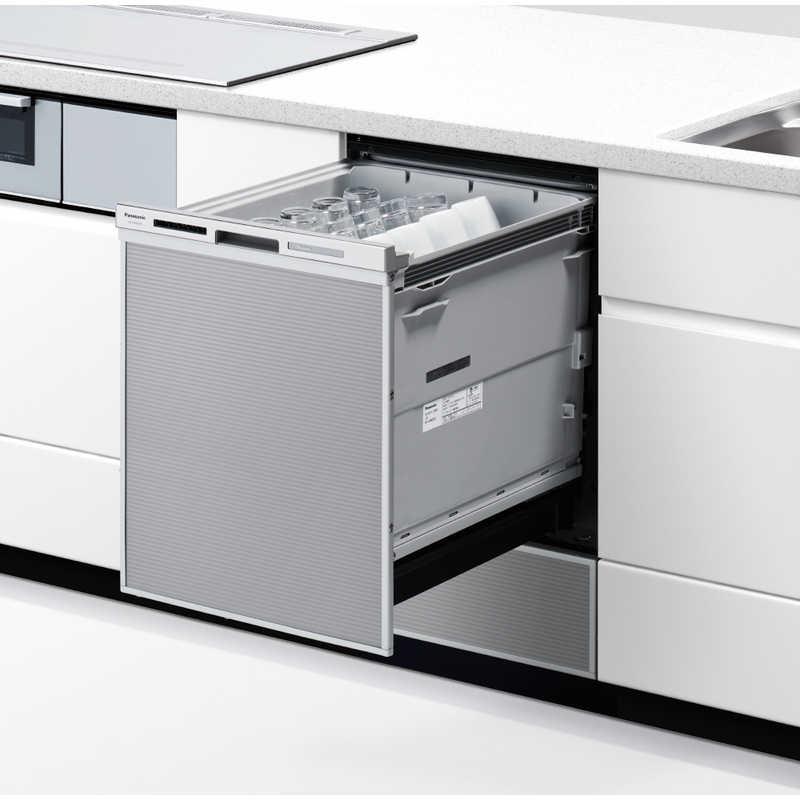 パナソニック Panasonic NP-45MD9S ビルトイン食器洗い乾燥機 M9シリーズ シルバー [6人用 /ディープ(深型)タイプ] NP45MD9S