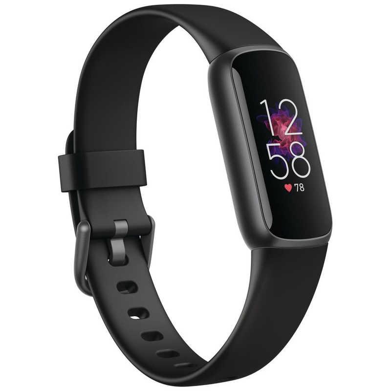 2021年07月01日発売予定 FITBIT Fitbit Luxe フィットネストラッカー Sサイズ L お気にいる ブラック 物品 FB422BKBK-FRCJK グラファイト