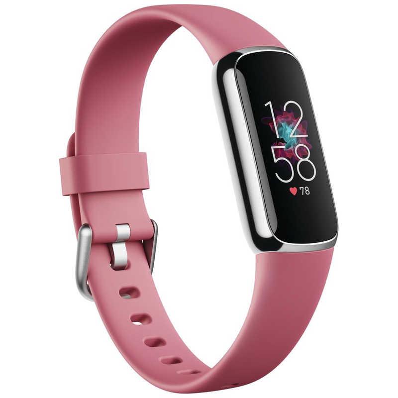 2021年07月01日発売予定 FITBIT Fitbit Luxe フィットネストラッカー Sサイズ FB422SRMG-FRCJK 信託 プラチナ L オリジナル オーキッド