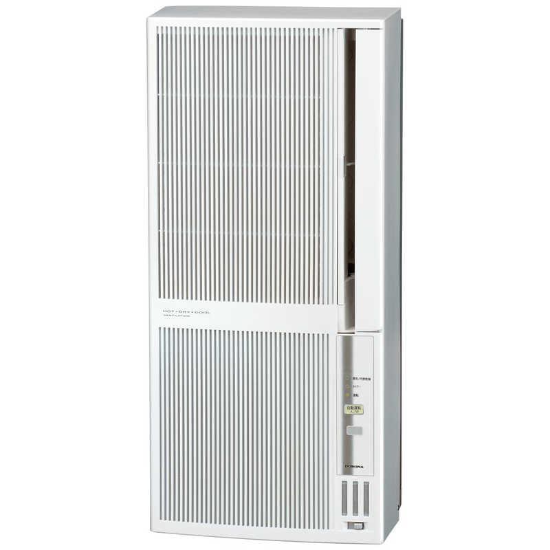 コロナ CORONA 保証 窓用エアコン ReLaLa シェルホワイト 大注目 冷暖房兼用タイプ オートドレイン CWHA1821