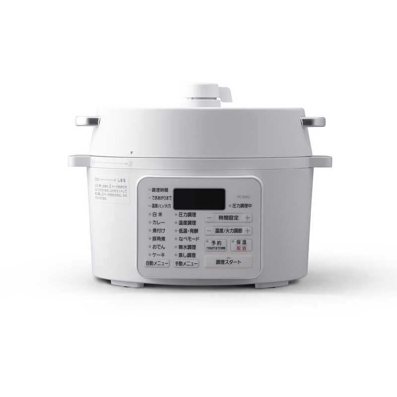☆最安値に挑戦 アイリスオーヤマ IRIS OHYAMA 電気圧力鍋 PCMA2W ホワイト 日本正規品