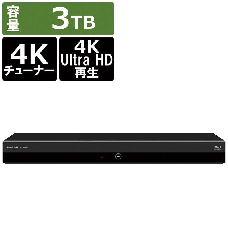 シャープ SHARP 購入 お歳暮 ブルーレイレコーダー AQUOSブルーレイ 4B-C30DW3 CS BS 2番組同時録画 4Kチューナー内蔵 3TB