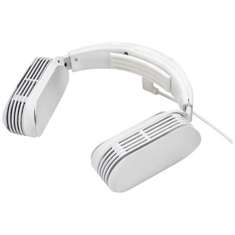 アイテム勢ぞろい 合計3 980円以上で送料無料 更に代引き手数料も無料 サンコー ホワイト 驚きの価格が実現 USB給電タイプ TKNEMU3 ネッククーラーEVO