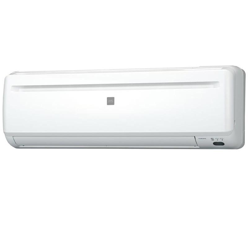 標準取付工事費込 コロナ CORONA エアコン 未使用品 入手困難 Relala おもに6畳用 RC-2221R-W リララ ホワイト 冷房専用シリーズ