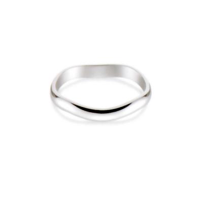 送料無料・無料刻印パイロットリング【K18ホワイトゴールドのマリッジリング】「True Love(トゥルーラブ)」(K220W 結婚指輪 PILOT)「売れ筋」 受注生産商品