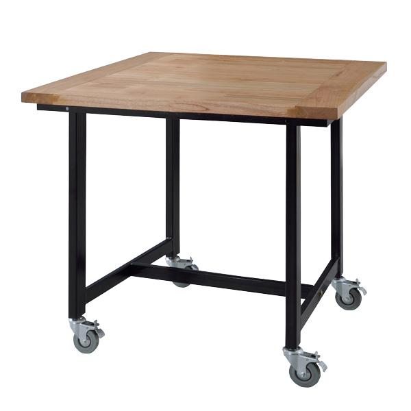 東谷 worker table ワーカーテーブル ダイニングテーブル 幅80cm W80×D80×H72cm GUY-671