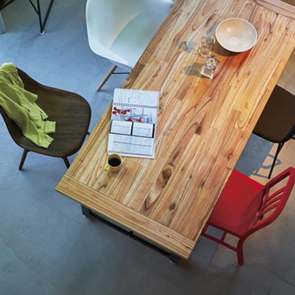 worker table ワーカーテーブル ダイニングテーブル 幅180cm W180×D80×H72cm GUY-674