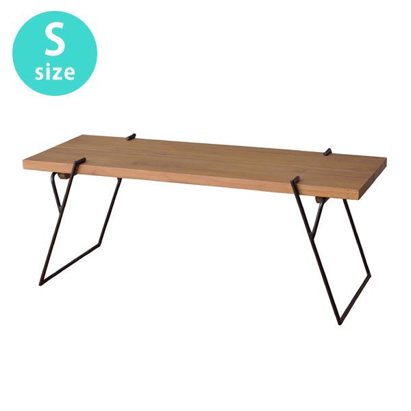 Niko ニコ コーヒーテーブルS 天然木 W105xD43xH41.5cm 幅105センチ NW-171