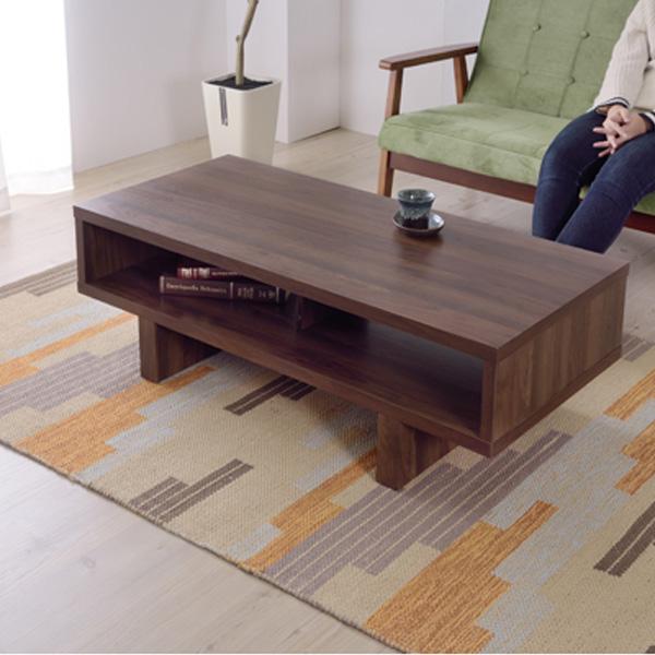 東谷 FACILI センターテーブル 約W110xD50xH36.5cm 幅110センチ OL-851
