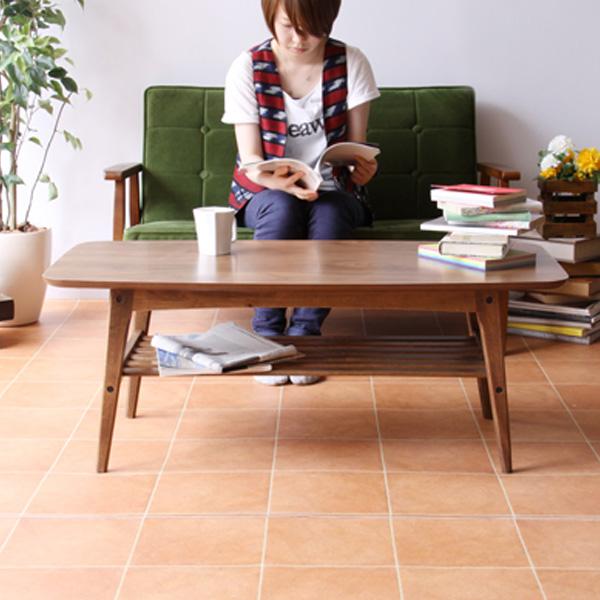 東谷 TOMTE SERIES トムテシリーズ コーヒーテーブルL 天然木 W105×D50×H40cm 幅105センチ TAC-228WAL
