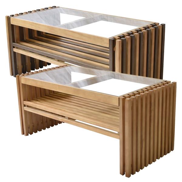 BBファニシング FOREST フォレスト センターテーブル 天然木 テーブル ローテーブル リビングテーブル 北欧 木製 おしゃれ オイル 格子 植物性オイル 塗装 モダン スタイリッシュ ハンドメイド ナチュラル FOCT-840
