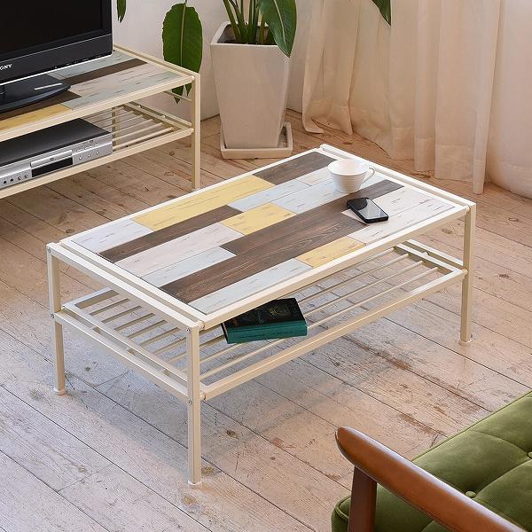 BBファニシング CHROME センターテーブル ローテーブル リビングテーブル ナチュラル CHCT-900