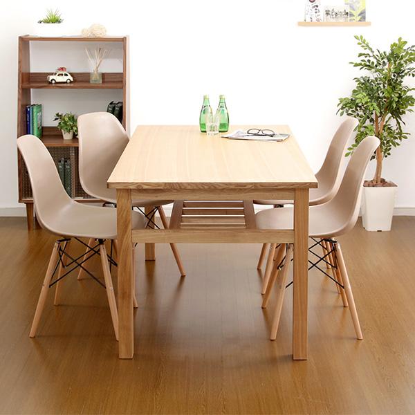 ダイニングテーブルセット ダイニングセット おしゃれ 安い 北欧 食卓 4人用 四人用 3人 135×80 椅子 4脚 ナチュラル カントリー