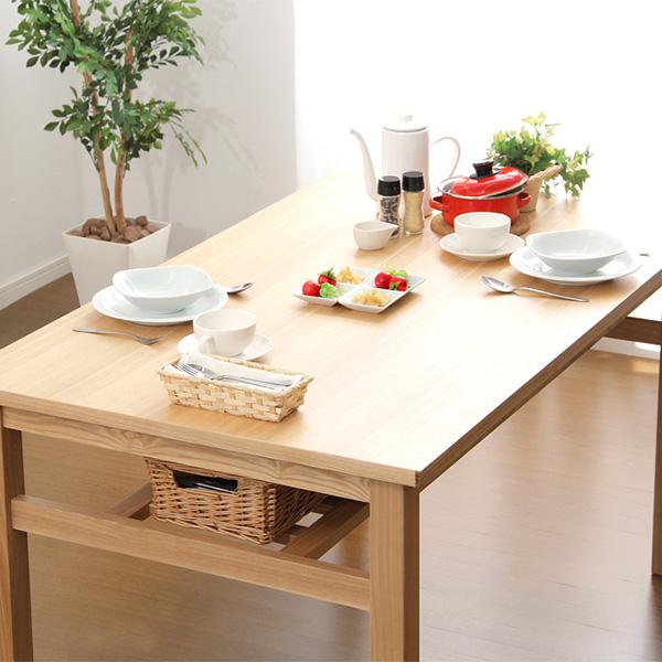 ダイニングテーブル (幅135cmタイプ)単品【 食卓 食卓テーブル 北欧 リビング リビングテーブル ポイント 送料無料 】