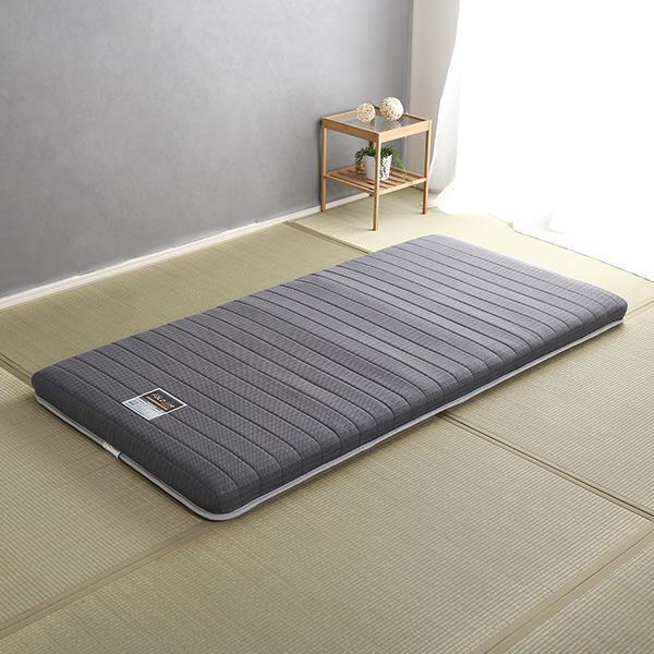 マットレス 高品質 腰痛 除湿 硬め かため コイル へたらない 固め カビ 人気 通気性 折りたたみ 3つ折り スプリング シングル フランスベッド 日本製