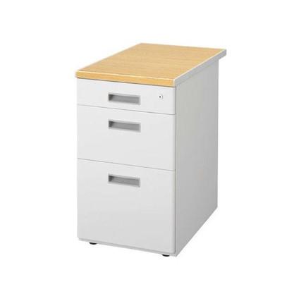 デスク キャビネット スチール オフィス 書類 ファイル 棚 収納 ケース 鍵付き レターケース 引き出し デスクワゴン デスク下収納 サイドチェスト 脇机 袖机 a4 3段