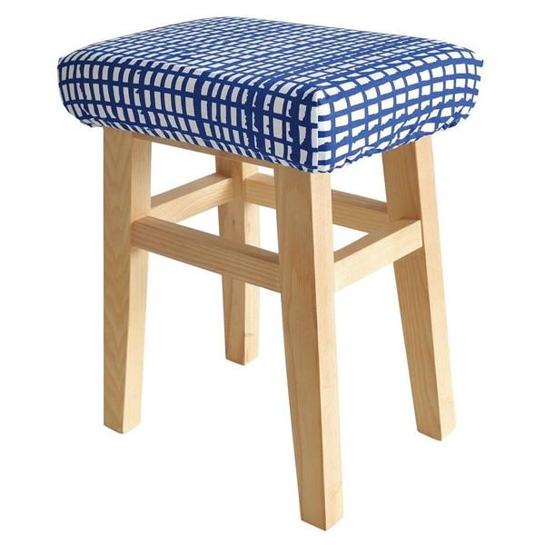 ダイニングチェア オフィスチェア パソコンチェア キャスターなし おしゃれ レトロ 北欧 椅子 軽量 安い モダン カフェ PC スツール ブルー:家具・インテリア通販Room