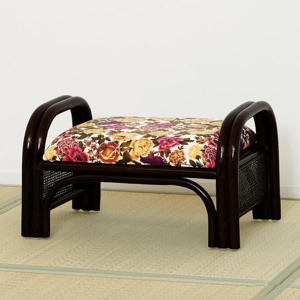 座椅子 座布団 低い 椅子 座イス 座いす 一人暮らし コンパクト ロー こたつ おしゃれ 1人掛け 一人掛け フロアチェア ラタン スツール