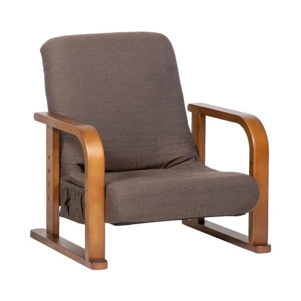 座椅子 リクライニングチェア 高座椅子 低い 椅子 一人暮らし コンパクト ローチェア こたつ おしゃれ 1人掛け 一人掛け 無地