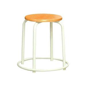 パイプ椅子 スタッキングチェア オフィスチェア 会議用チェア 会議椅子 チェア スツール 事務椅子 パソコンチェア 丸 足置き デスクチェア 椅子 イス 期間限定で特別価格 アイボリー pc ナチュラル 卓出 いす