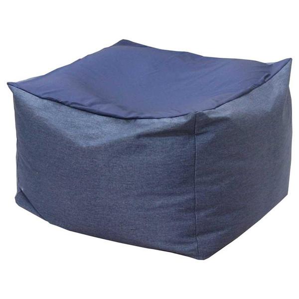 ビーズクッション 座椅子 クッション ローソファー 座布団 大きい 安い 中身 特大 おしゃれ 大型 ビーズ スツール インディゴ