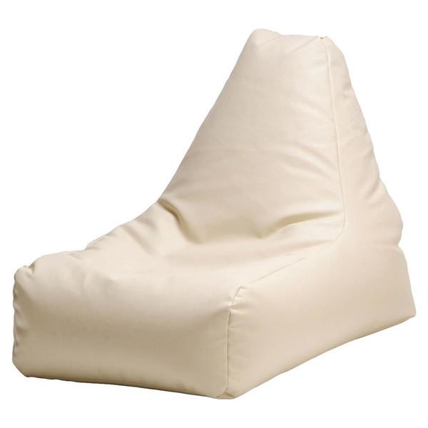 ビーズクッション 座椅子 クッション ローソファー 座布団 大きい 安い 中身 特大 おしゃれ 大型 ビーズチェア レザー アイボリー