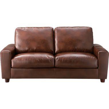 ソファー 3人掛け 高級感 ソファ 3P 2.5P ブラウン 茶色 ( アームチェア ローソファ カウチ 三人掛け 3Pソファー 2.5人 ) 低い