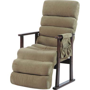 ソファー 一人掛け リクライニングチェア グリーン 緑 【椅子 チェア イス いす 座椅子 フロアチェア パソコンチェア オフィスチェア キャスター付き椅子 ハイバック ダイニングチェア デザイナーズチェア リクライニングチェア ロッキング 送料無料 ポイント】